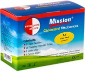 Mission 3 in 1 Cholesterol test strips (25 stuk)