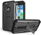 Case Cover PC/TPU Hybrid Shockproof met Standaard Apple iPhone 6 / 6s - Grijs