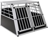 Topmast Autobox Aluminium 104 x 91 x 70 cm Dubbeldeurs