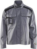Blåkläder 4054-1800 Industriejack Ongevoerd Grijs/Zwart maat XL