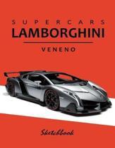 Supercars Lamborghini Veneno Sketchbook