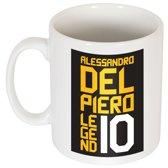Del Piero No.10 Graphic Mug