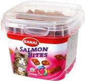 Sanal Salmon Bites - Zalm - Kattensnack - 75 g