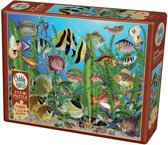 Cobble Hill easy handling puzzle 275 pieces - Aquarium