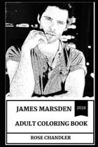 James Marsden Adult Coloring Book