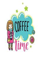 Coffee Time: Smile Design pocket Notebook Journal Composition Book and Diary for Girls and Boys - cute Unique Gift Idea Sketchbook