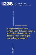 El papel del oyente en la construccion de la conversacion espontánea de estudiantes italianos en su interlengua y en su lengua materna