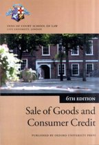 Sale of Goods and Consumer Credit in Practice