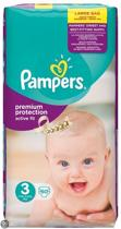 Pampers Active Fit - Maat 3 Jumbo Pack - 60 Luiers