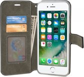 Apple Iphone 6s Plus Luxe Wallet Case. Business hoesje met extra vakjes voor bankpasjes en papiergeld., zwart , merk i12Cover