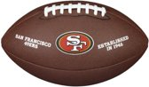 Wilson WTF1748XB NFL Licensed Ball 49ers American Football