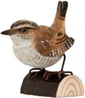 Houten vogel - winterkoninkje