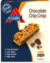 Atkins Chocolate Chip Crisp  - Day break reep - 5 x 30 gram
