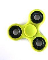 2 x Super Fidget Spinner – Lime (Geel/Groen) - Hand Spinner Draaier - Stress verminderende Speel Spinner - Stress Spinner Handspinner