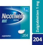 Nicotinell cool mint 1 mg zuigtablet - 204 stuks