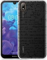 Huawei y5 2019 Hoesje Wiskunde zwart
