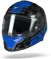 Scorpion Exo-R1 Air Ogi Zwart Blauw Integraalhelm - Motorhelm - Maat M