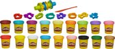 Play-Doh Super Color Kit - 18 potten en kleuren - Klei