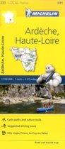 Ardeche, Haute-Loire - Michelin Local Map 331