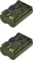 ChiliPower BP-511 / BP-511A accu voor Canon - 1700mAh - 2-Pack