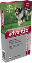 Advantix Spot On 250/1250 10-25 kg - 4 pip