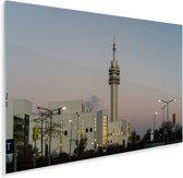 De communicatiemast in Haarlem Plexiglas 60x40 cm - Foto print op Glas (Plexiglas wanddecoratie)