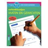 Tijd voor huiswerk - Oefenblaadjes maten en gewichten (10-11 j.)