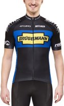 Bioracer BrÃŒgelmann jersey zwart - Maat S