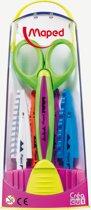 Hobbyschaar x 1 + 5 sets bladen - paarse sokkel