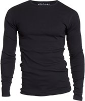 Garage 303 - T-shirt 1-pack Semi Body Fit Long Sleeve R-Hals Zwart - L