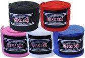 Super Pro Nylon Rigid Hand Wraps-Blauw