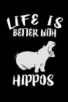 Life Is Better With Hippos: Animal Nature Collection