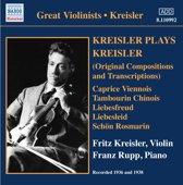 Kreisler Plays Kreisler