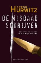Boekomslag van 'De Misdaadschrijver'