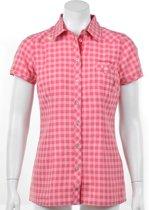 Exxtasy Dumont - Outdoorshirt -  Dames - Maat 36 - Roze;Wit