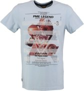 Pme legend lichtblauw t-shirt - Maat XL