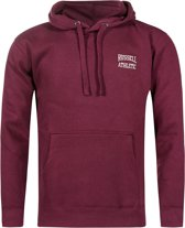 Russell Athletic - Pull Over Hoody SM Logo - Heren - maat M