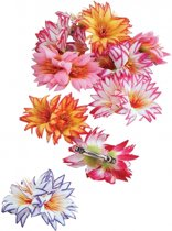 Tropische bloem haarclip