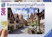 Ravensburger puzzel Rothenburg, Duitsland - Legpuzzel - 500 stukjes