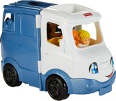 Fisher-Price Little People Liedjes en Geluiden Camper - Speelfigurenset
