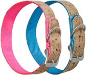 Collar cork blue 35 cm 24 mm