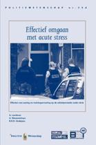 Politiewetenschap 53 d - Effectief omgaan met acute stress
