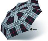 Adventure Bags Paraplu - Geruit Zwart - Opvouwbaar