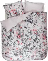 Esprit Puako dekbedovertrek Coral pink 2-persoons (200x200/220 cm + 2 slopen)