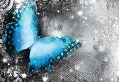 Fotobehang Butterflies | XL - 208cm x 146cm | 130g/m2 Vlies