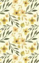 Mustard Yellow Blossoms - Blank Notebook - 5