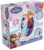 Jumbo muurpuzzel Disney Frozen