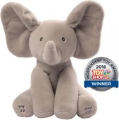 Flappy de olifant - speelt kiekeboe en zingt( Engelstalig)