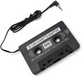 Cassette adapter voor in de auto