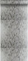 lijmdruk vlies behang cammouflage zilver - 307113 van ESTAhome.nl